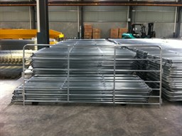 Galvanised Portable Goat Panel - Stewart Trading