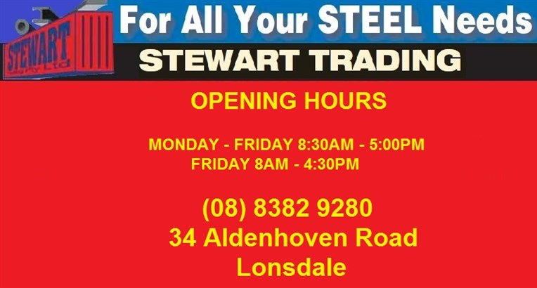 Stewart Trading - Stewart Steel Supplies Opening Hours