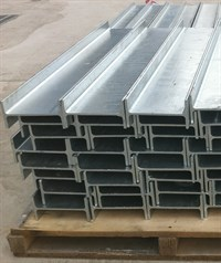 Retaining wall Steel Support - Galvanised Universal beam